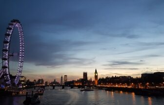 night in England